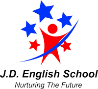 J. D. English school logo